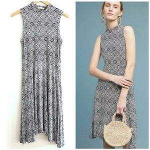 Anthropologie | Maeve Geometric Cleary Knit Dress